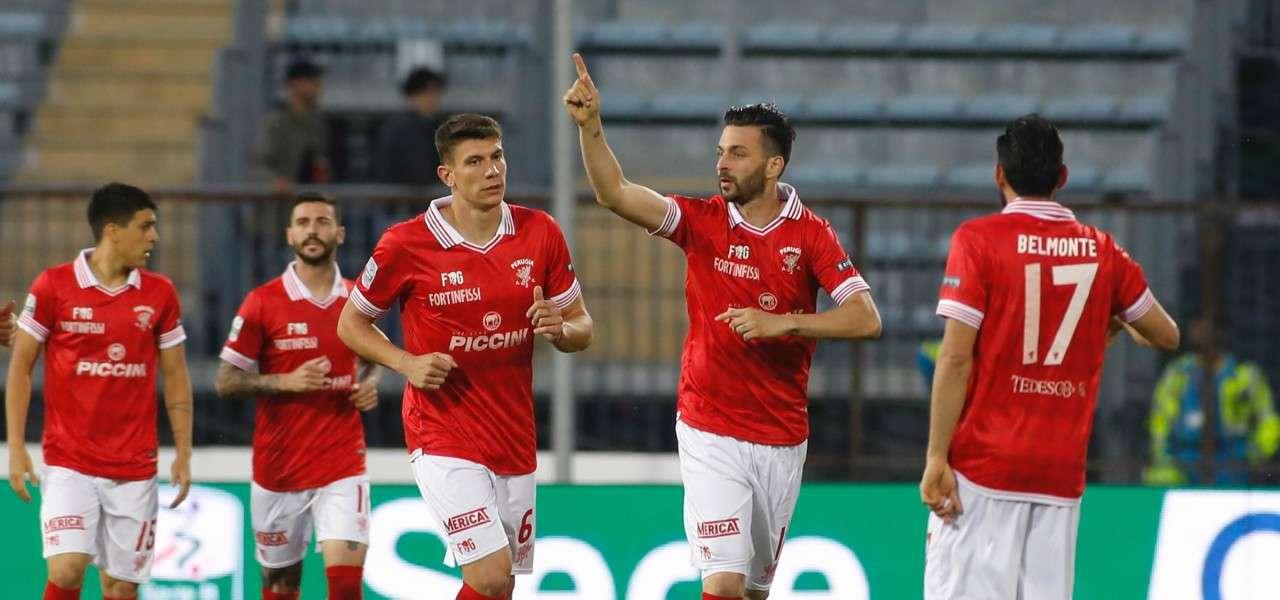 Buonaiuto Perugia gol gruppo lapresse 2019