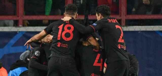 Atletico Madrid gruppo