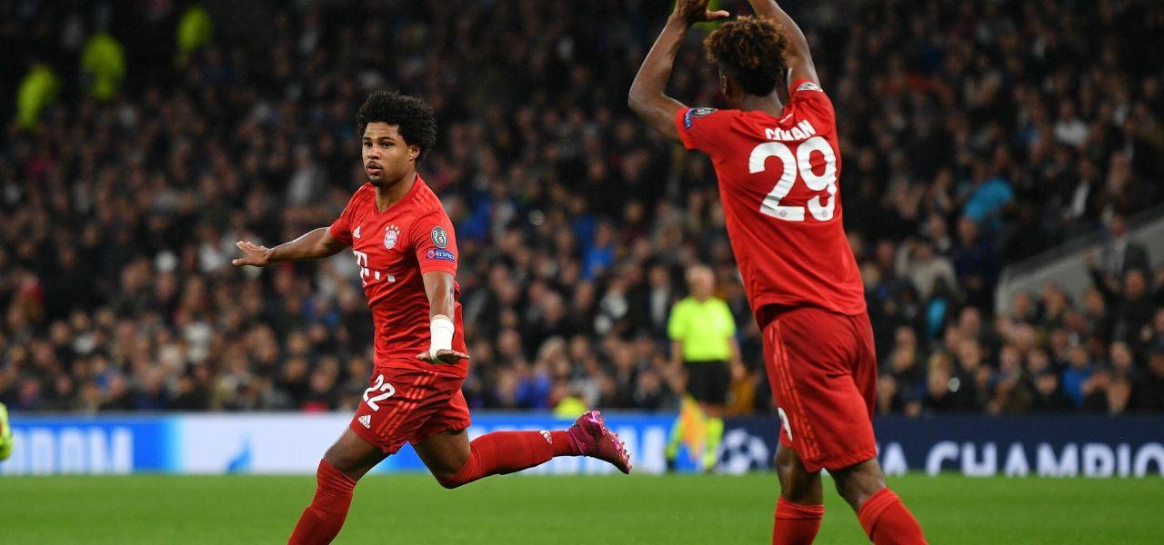 Gnabry e Coman Bayern