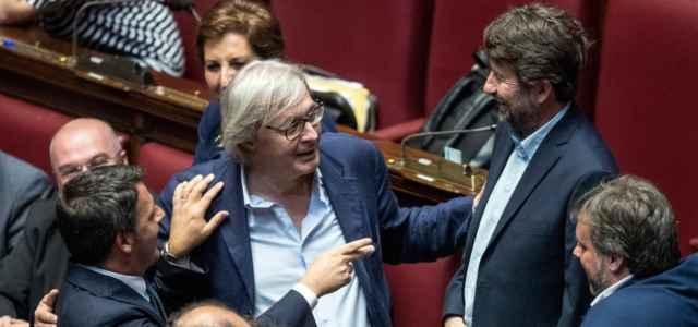 Sgarbi, Renzi e Franceschini