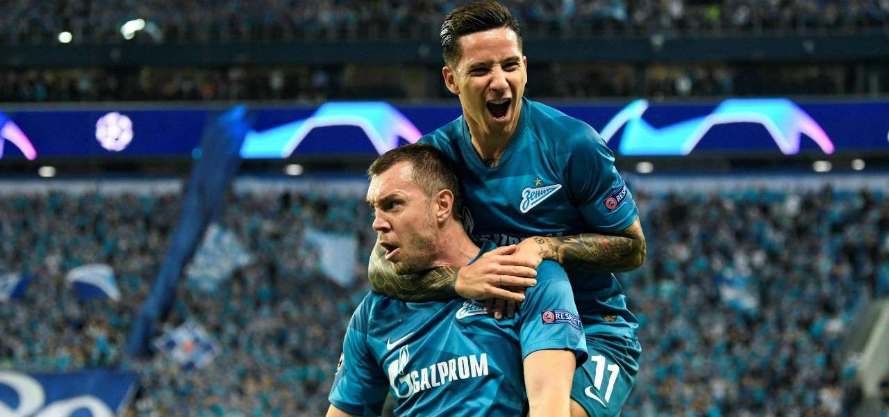 Dzyuba Driussi Zenit gol lapresse 2019