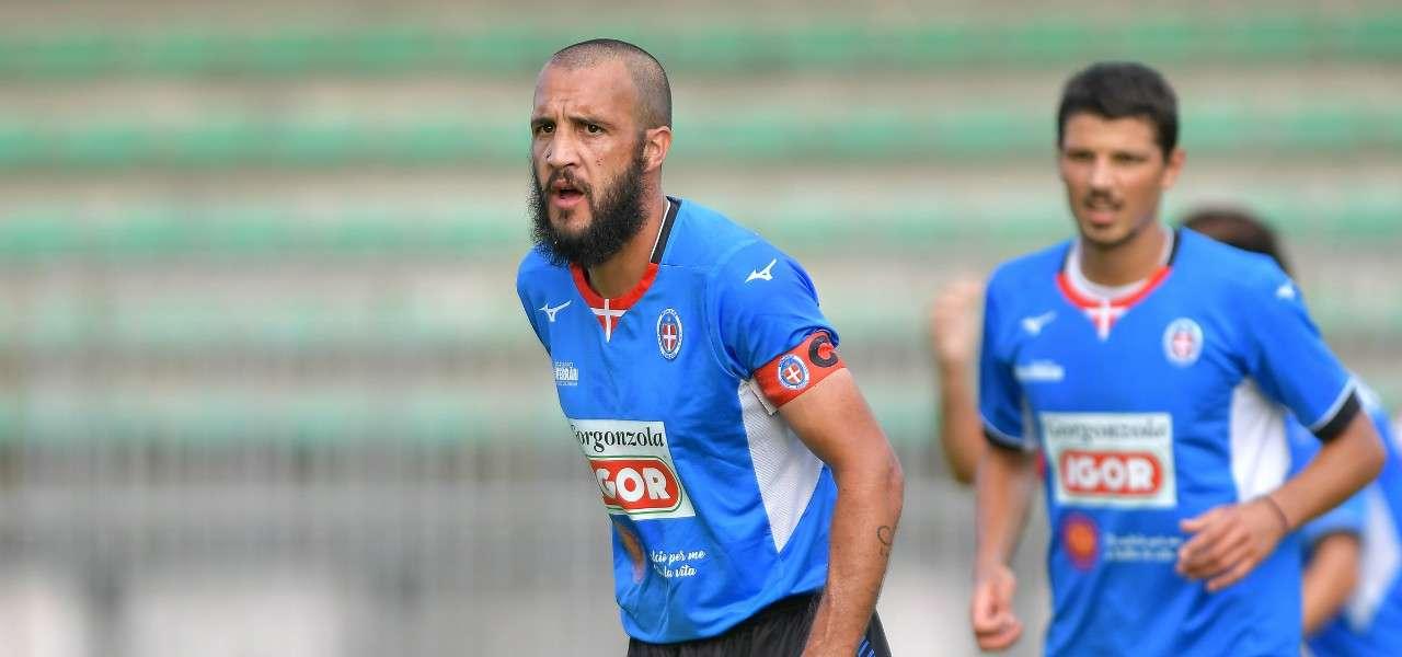 Pablo Gonzalez Novara capitano lapresse 2019