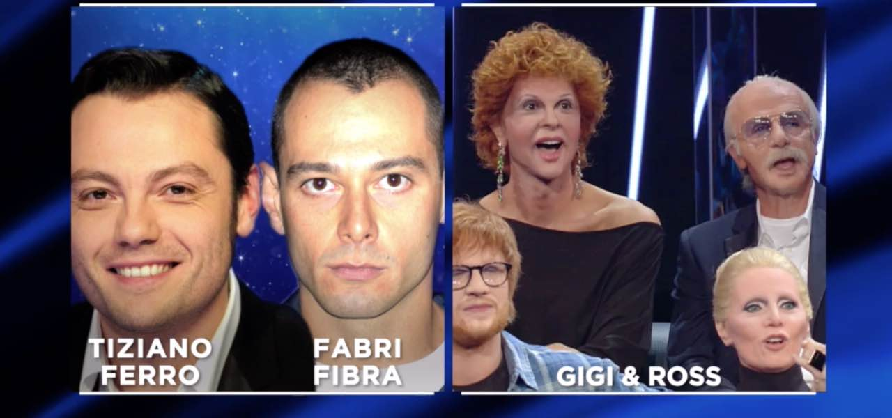 Gigi e Ross sono Tiziano Ferro e Fabri Fibra