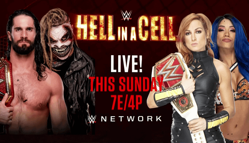 Hell in a Cell 2019/ Wrestling WWE, info streaming video e tv: Fiend ...