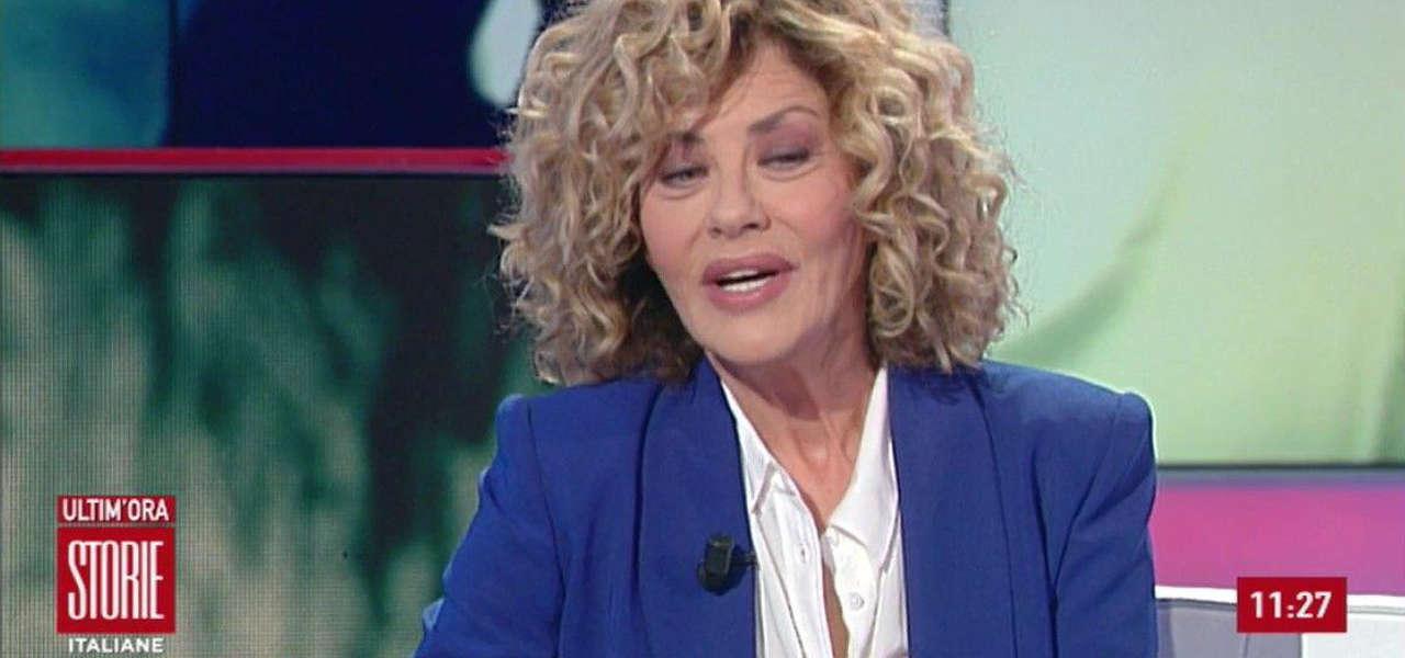Eva Grimaldi, Storie Italiane