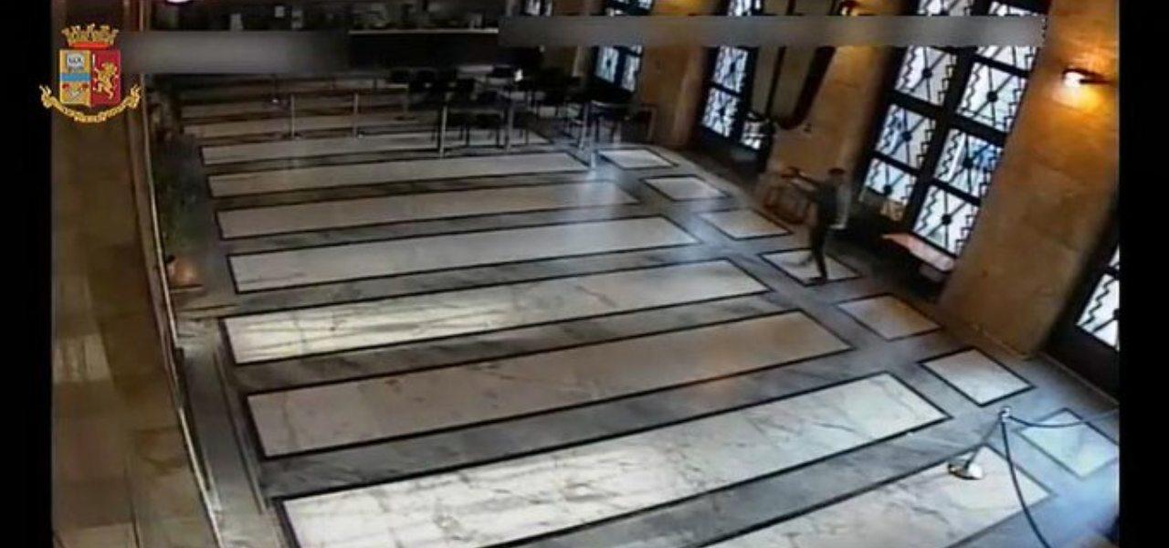 Video sparatoria Trieste