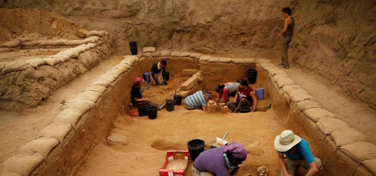 Israele scavi archeologici al parco nazionale di Ashkelon 2