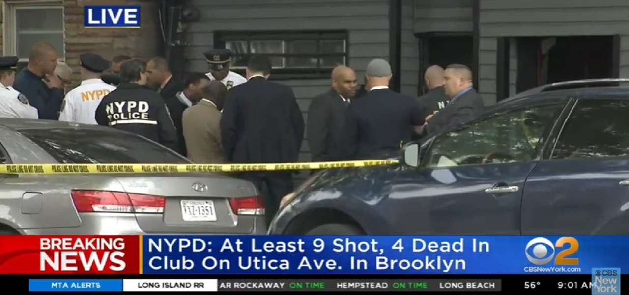 New York sparatoria Brooklyn