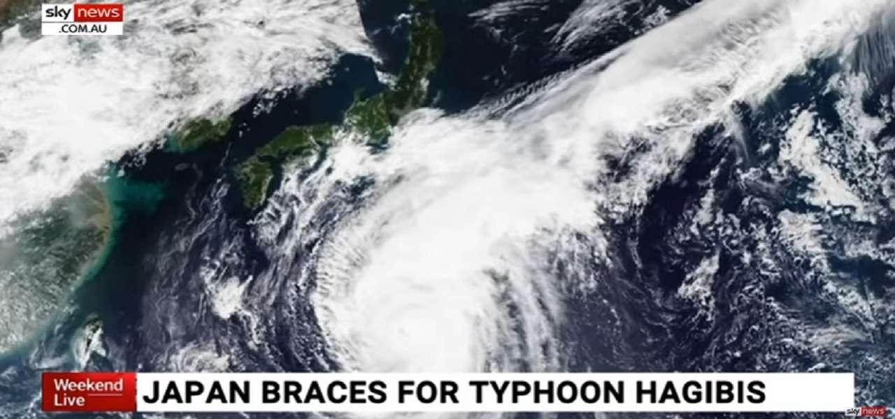 tifone giappone