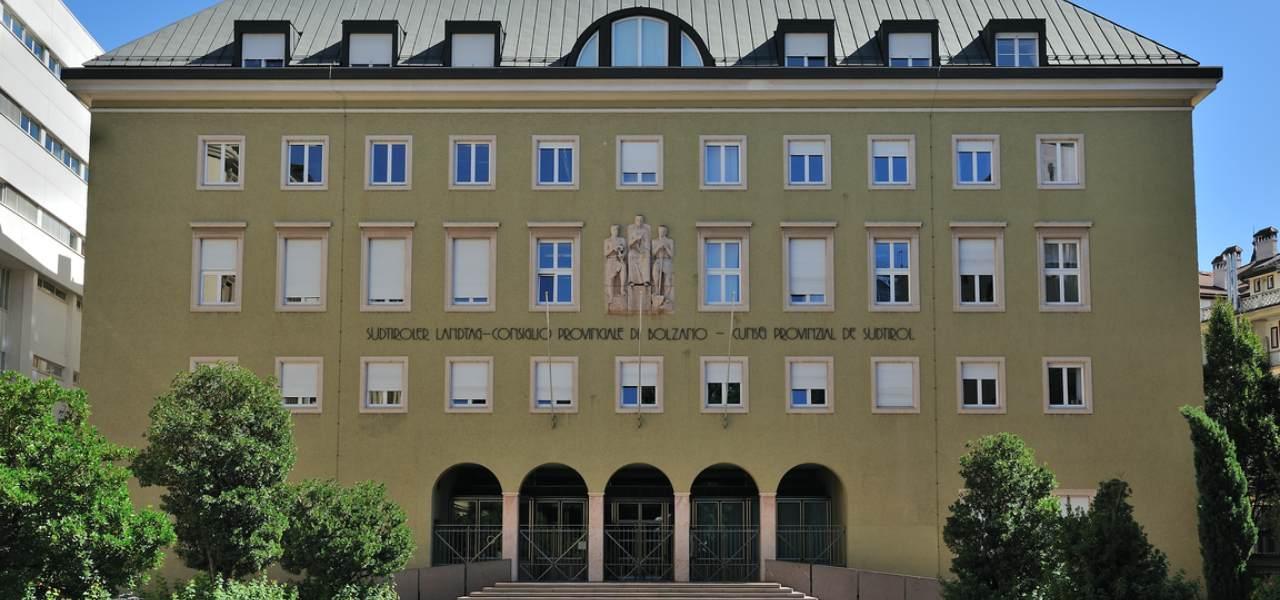 Consiglio provincia Bolzano