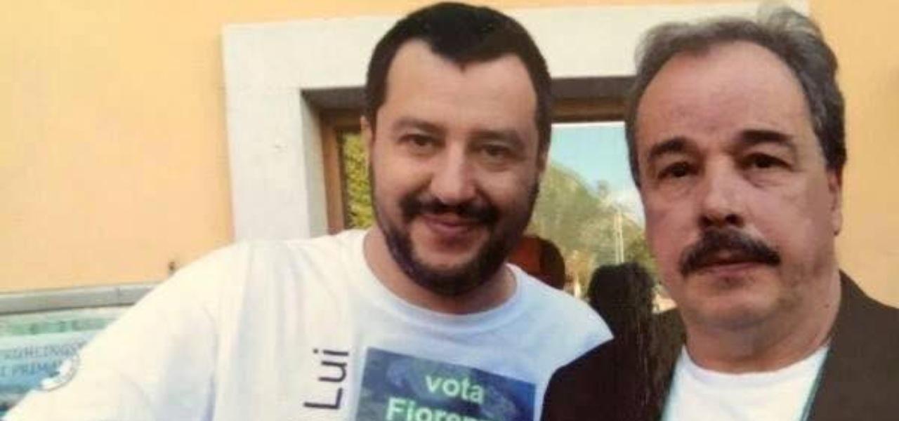 Matteo Salvini e Fiorenzo Marzari
