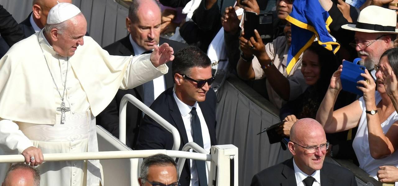 Papa e Gendarmeria