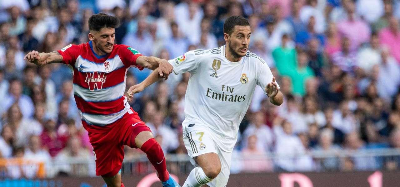 Eden Hazard Real Madrid Granada lapresse 2019