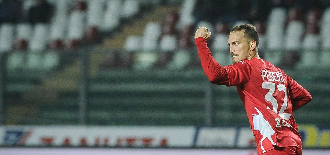 Pesenti Padova gol lapresse 2019