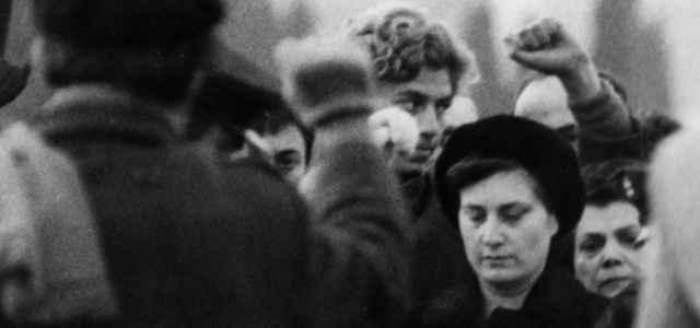 16 dicembre 1969: il funerale di Giuseppe Pinelli (LaPresse)
