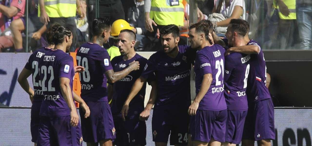 Chiesa Caceres Pulgar Ribery Benassi Fiorentina gol lapresse 2019