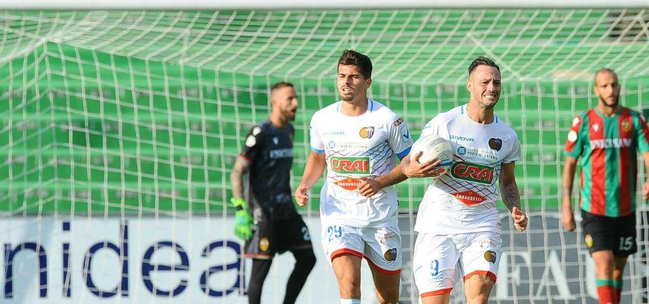 Rossetti Di Piazza Catania gol lapresse 2019
