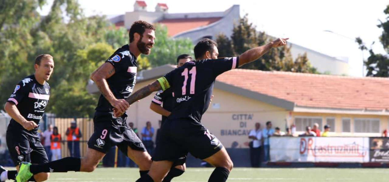 Santana Ricciardo Palermo gol lapresse 2019