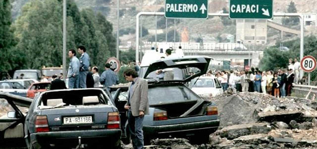 La strage di Capaci del 1992
