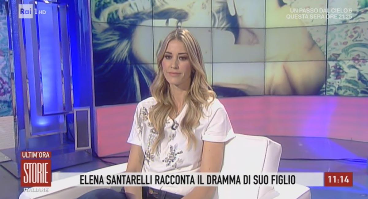 elena santarelli 2019 rai