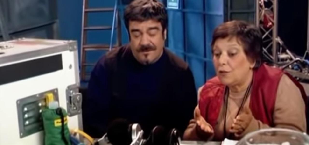 Roberta Fiorentini e Francesco Pannofino