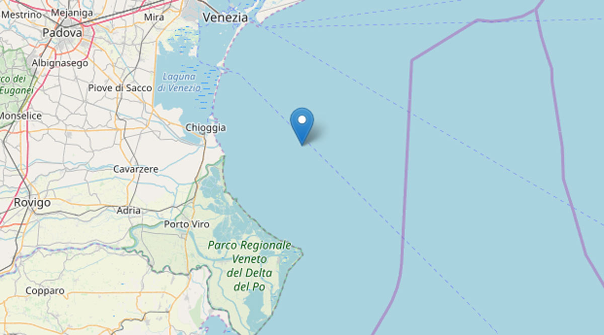 terremoto venezia