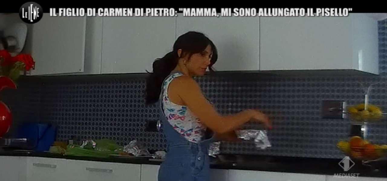 Carmen Di Pietro scherzo iene