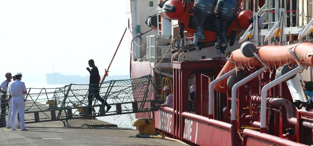 immigrazione migranti ong oceanviking 2 lapresse1280