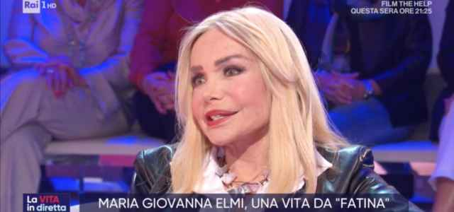 """Maria Giovanna Elmi a """"La Vita in Diretta"""""""