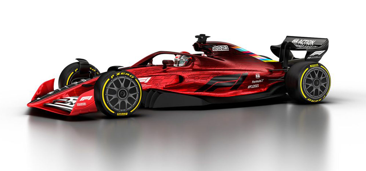 F1, la monoposto del 2021