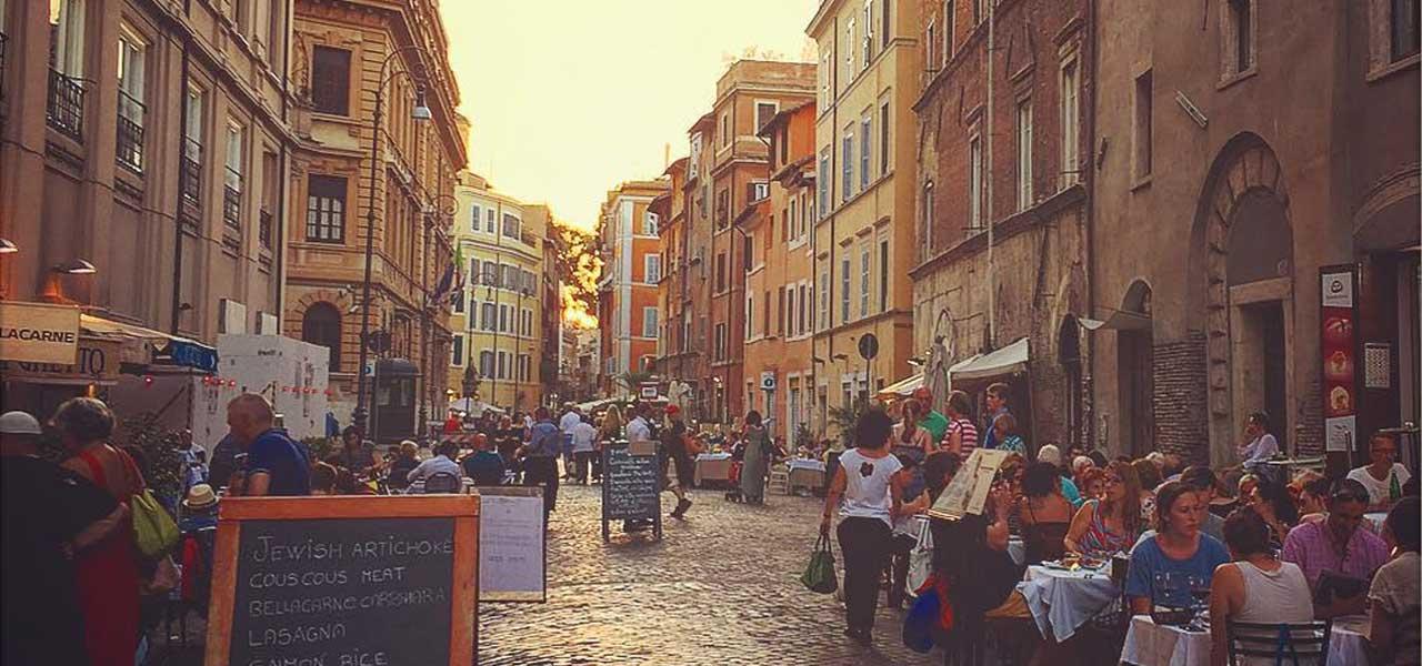 Il Ghetto Ebraico a Roma