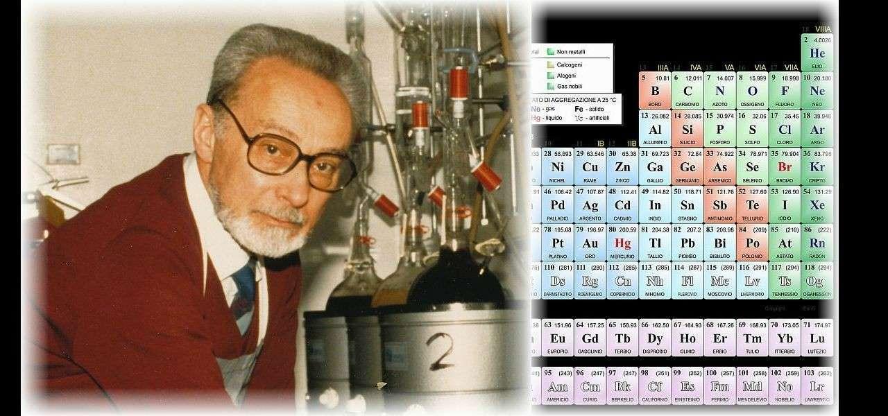 primo levi tavola mendeleev chimica