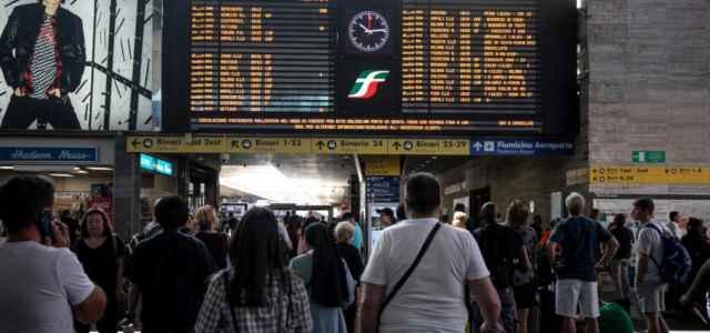 Treni in tilt a Roma Termini
