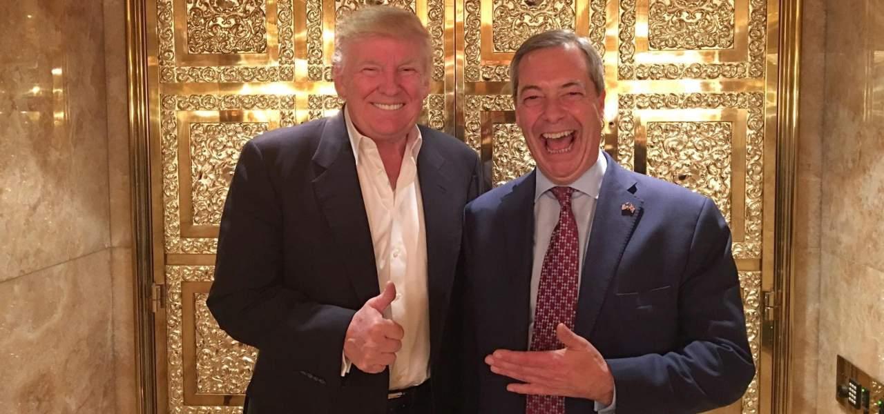 Trump e Farage