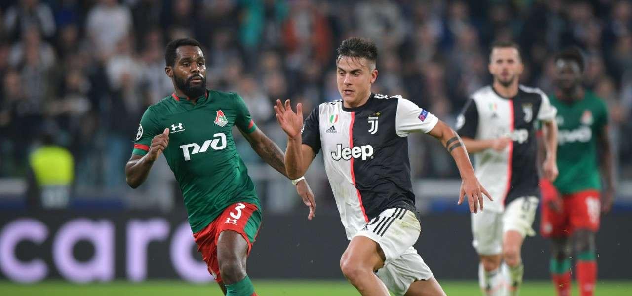 Dybala Idowu Juventus Lokomotiv lapresse 2019 1