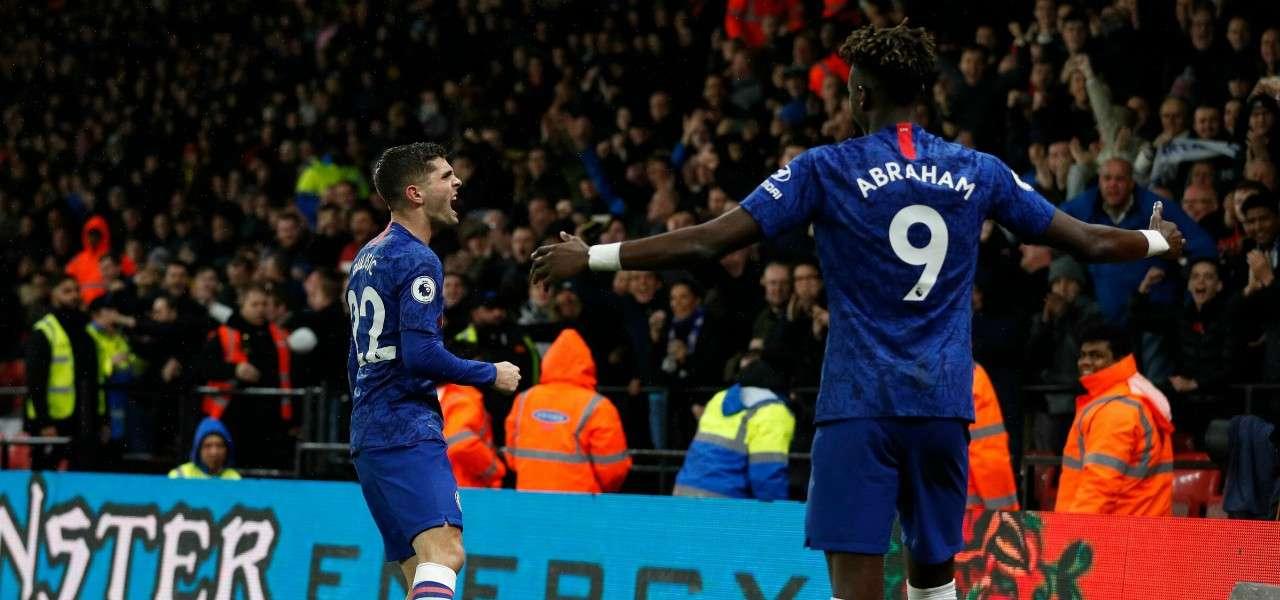 Pulisic Abraham Chelsea gol lapresse 2019