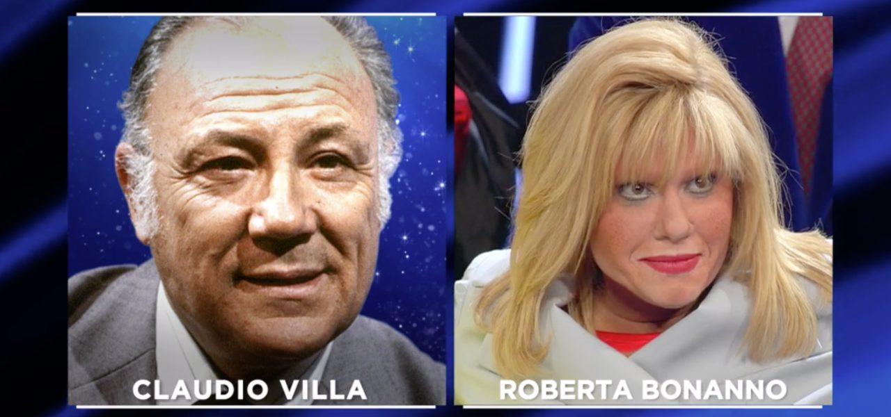 """ROBERTA BONANNO È CLAUDIO VILLA/ Goggi: """"Sei uguale, ma ..."""