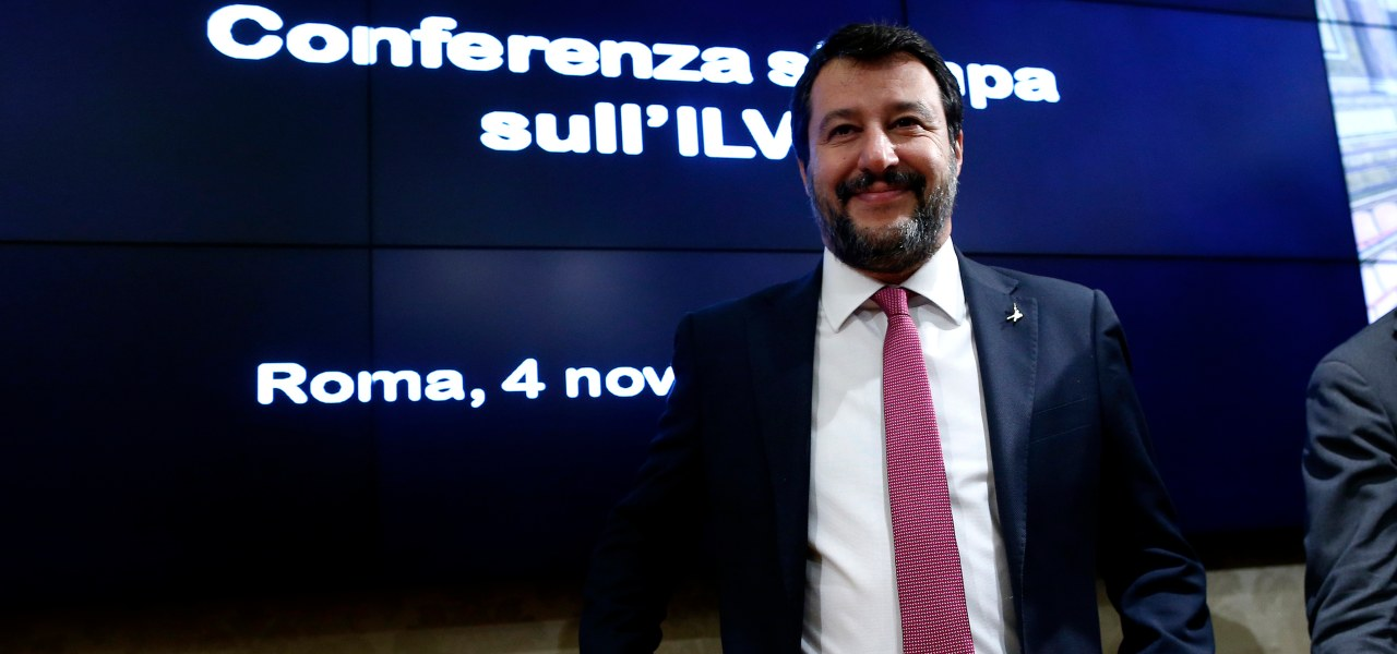Salvini e l'Ilva