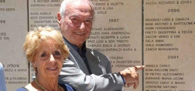 Piero Angela in compagnia della moglie Margherita Pastore