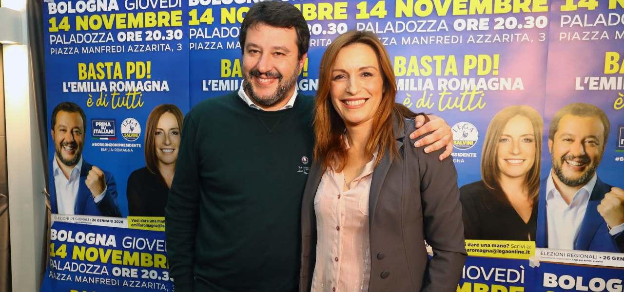 Salvini e Borgonzoni