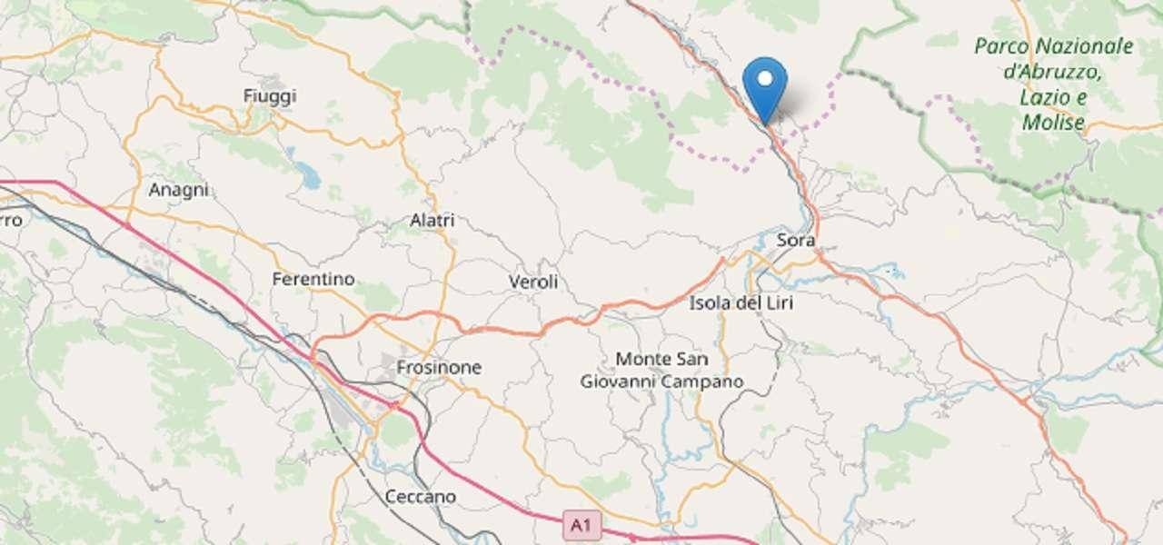Terremoto L'Aquila Balsorano