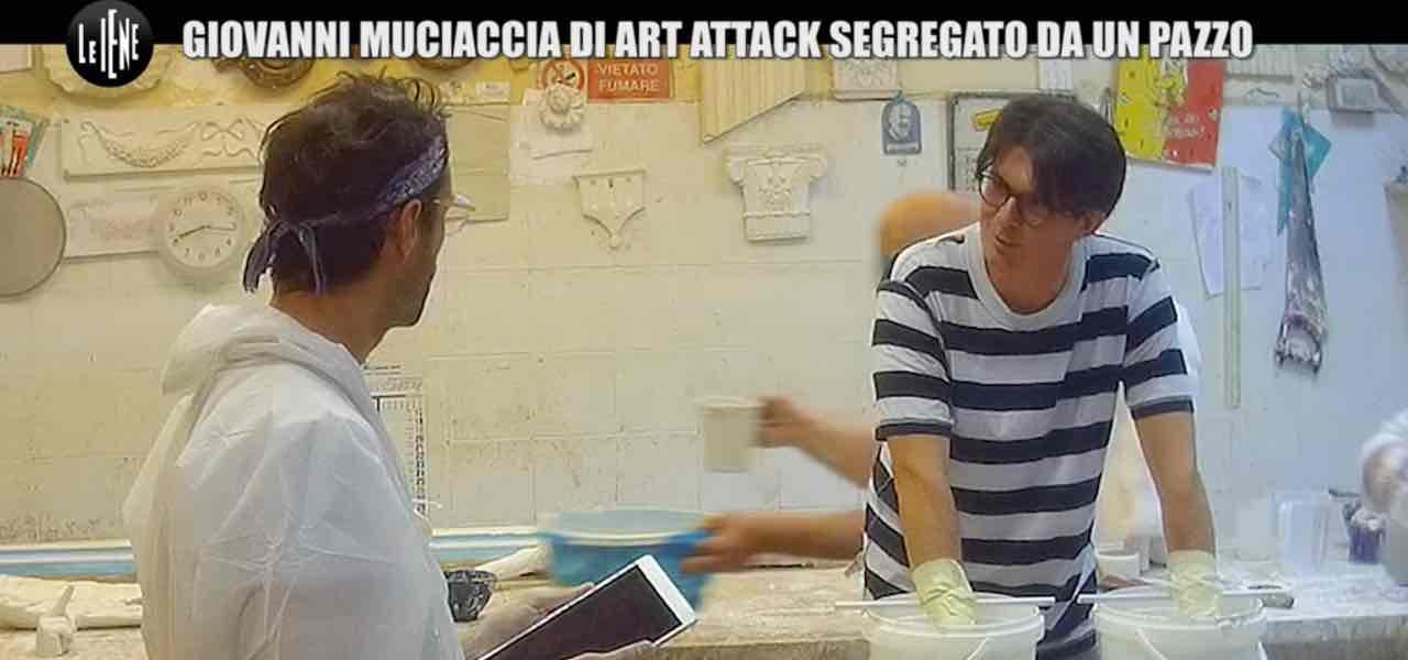 Giovanni Muciaccia, scherzo a Le Iene