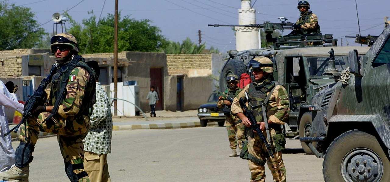 militari italiani iraq 2 lapresse