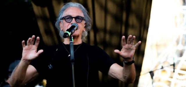 Il cantautore Riccardo Fogli