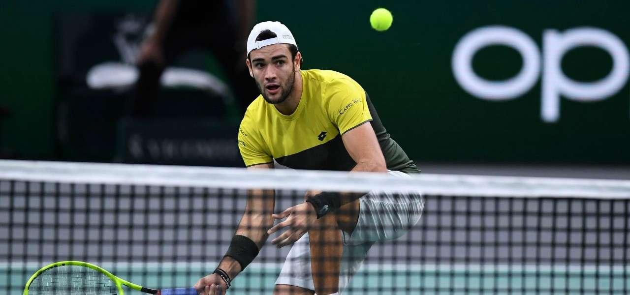 Matteo Berrettini volee Atp Finals lapresse 2019