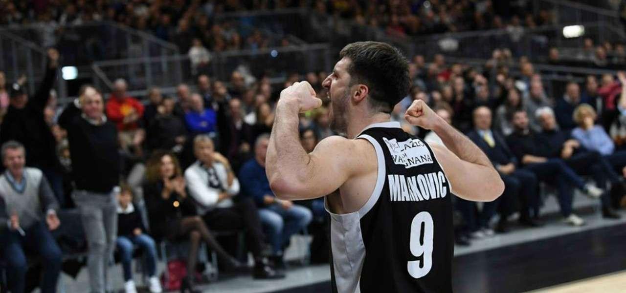 Stefan Markovic Virtus Bologna muscoli lapresse 2019