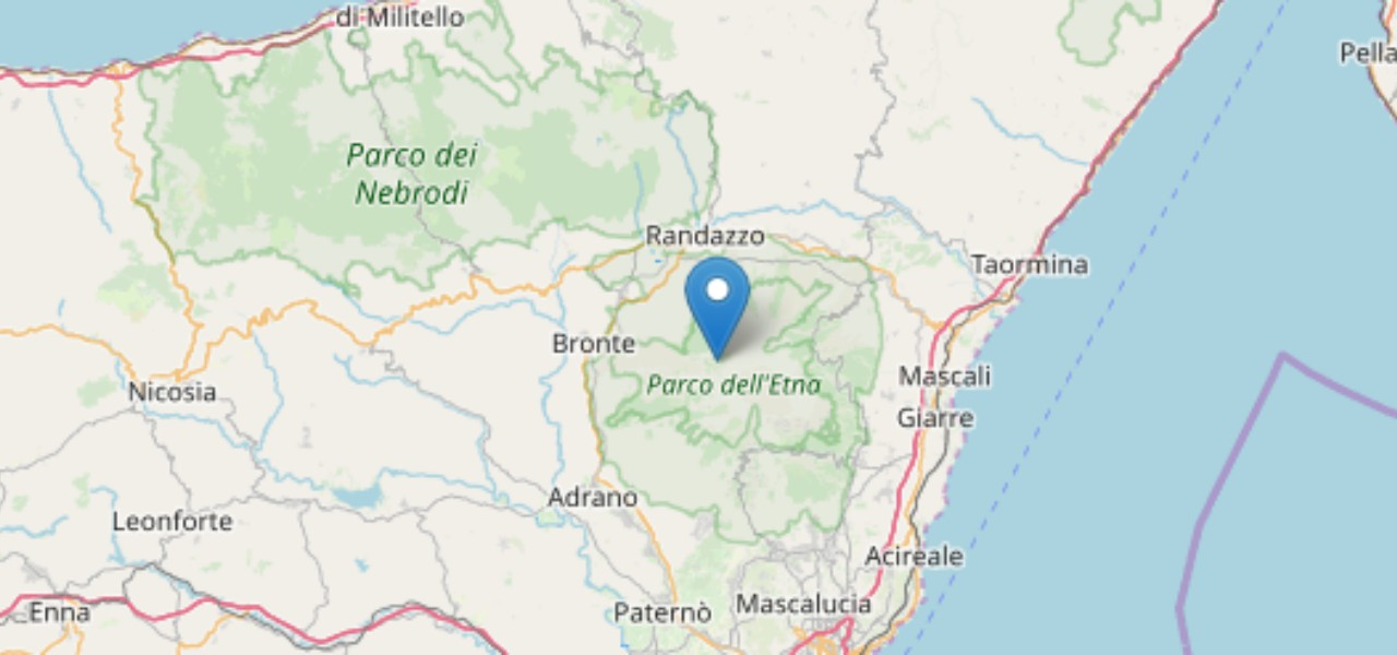 terremoto oggi catania 12 novembre 2019 ingv