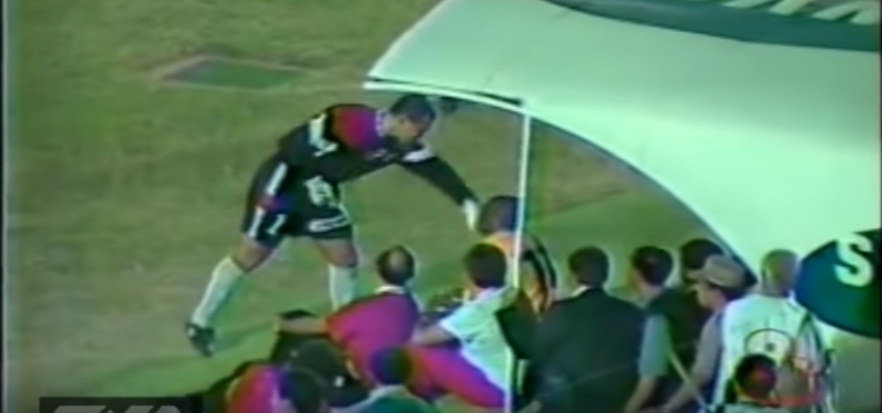 Chilavert vs Asprilla