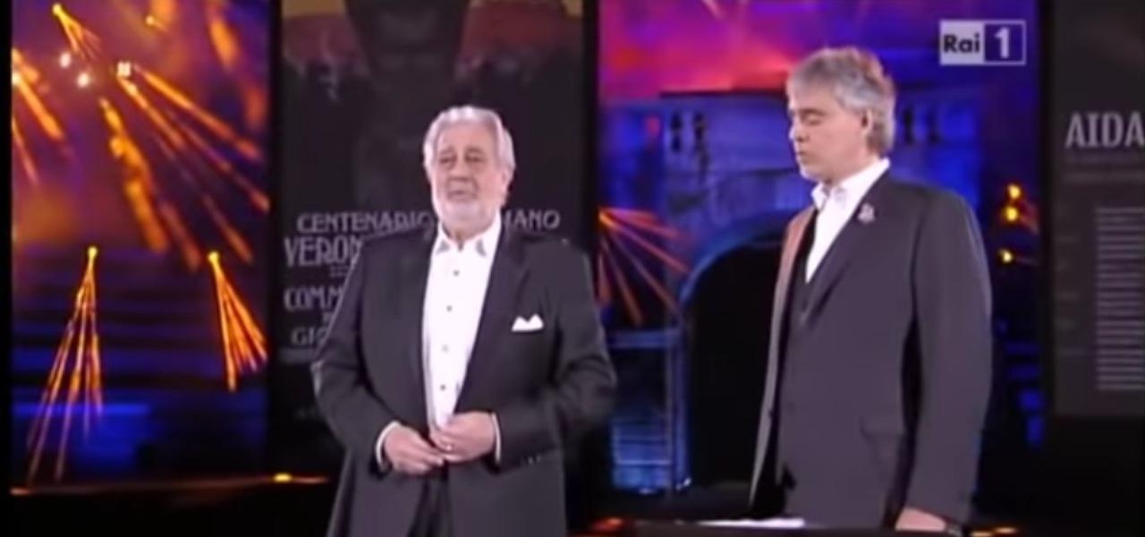 Placido Domingo e Andrea Bocelli