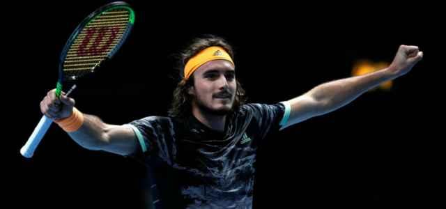 Stefanos Tsitsipas Atp Finals lapresse 2019 640x300